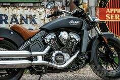 Indian Scout, perfect bike!
