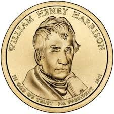 William Henry Harrison 2009 US Presidential One Dollar Coin The William Henry Harrison Dollar was the first release of the Presid. American Coins, American Presidents, One Dollar, Dollar Coin, Dollar Bills, List Of Presidents, William Henry Harrison, Presidential History, Coin Values