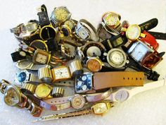 Steampunk Watch Parts Jewelry Craft Supplies 1 or 2 by Aim4Goodies, $2.99