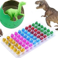 Eshion Dinosaur Dino Eggs Add Water Magic lovely Children Toy 60PCS Dinosaur Eggs >>> Be sure to check out this awesome product.