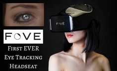 Fove VR tracks your eyes and head in their Virtual Reality Headset - http://www.IamVR.co/fove-vr-virtual-reality-headset/