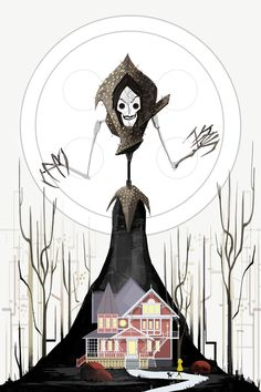 Beldam by Janice Chu / Tumblr Part of the LAIKA 10 Yr Anniversary Exhibition/Halloween Party art show at Gallery Nucleus. Signed illustration available HERE.