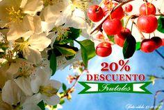 ¡Es época ideal para plantar! Oferta 20% de descuento en frutales http://jardineriakuka.com/254-frutales