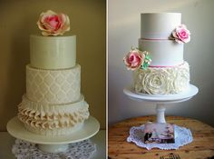 Sugar Blossom Cakes Wedding Cakes Vintage Rustic Fun1043 Sugablossom Cakes Top 10 Cakes for 2012