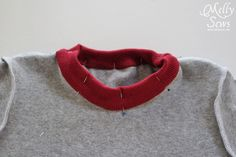 Step 7 - Sew a t shirt for boys with this free pattern and tutorial from Melly Sews