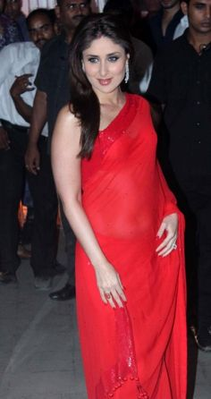 Kareena in Red Saree. Bollywood Actress Bikini Photos, Beautiful Bollywood Actress, Beautiful Indian Actress, Beautiful Women, Bollywood Girls, Bollywood Celebrities, Bollywood Fashion, Bollywood Gossip, Bollywood Stars
