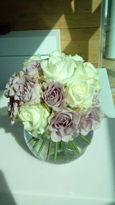 """""""Avalanche"""" and """"Memory Lane"""" roses by ROSMARINO"""