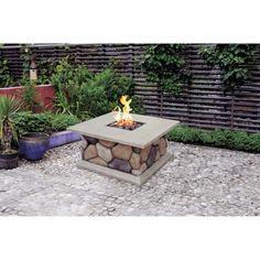 Lp+Gas+Fire+Pit+Dyi | Ridgecrest LP Gas Fire Pit: Patio & Outdoor Decor : Walmart.com