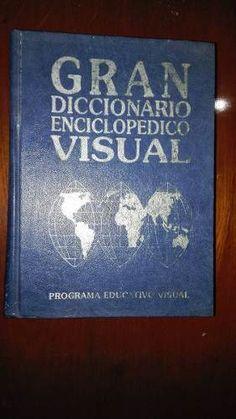 Gran Diccionario Enciclopedico Visual- Con Fotos A Color $250 pesos mnx- gastos de envio incluido