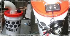 How to Build an Off Grid Air Conditioner: DIY Bucket Air Cooler Instructions Bucket Air Conditioner, Diy Air Conditioner, Off The Grid, Car Cleaning, Cleaning Hacks, Diy Swamp Cooler, Plastic Bottle House, Plastic Bottles, New Kitchen Doors