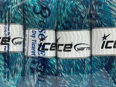 Mango Wool Turquoise Blue Shades