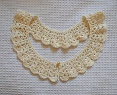 Gola de Crochê Vintage