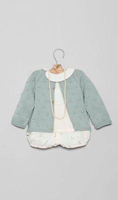 Conjuntos para bebé en la Tienda Online Nícoli Nicoli L1602020-bb Bebe