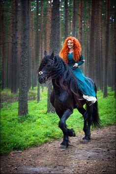 Merida From Brave, #Disney Cosplay
