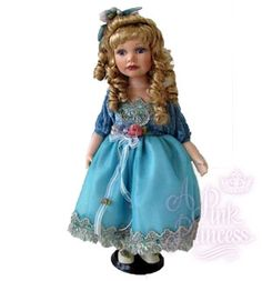 ADDISON Porcelain Doll