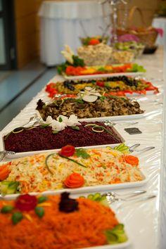 So könnte auch Ihr Salatbuffet aussehen! Ob Hochzeit oder andere Feierlichkeiten Korotkov Catering ist Ihr bester Partner für kulinarische Vielfalt im Raum Heilbronn