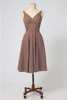 The Jacey Dora Polkadot Swing Dress by Miss Candyfloss