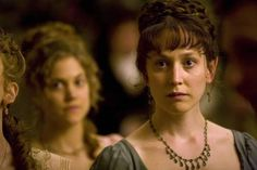 Hattie Morahan, Elinor Dashwood - Sense & Sensibility directed by John Alexander (TV Mini-Series, 2008) #janeausten