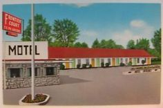 Missouri post cards | Details about Frontier Court Motel Poplar Bluff Missouri MO Postcard