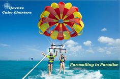 Will you try parasailing in paradie? Come to Cabo and experience it first hand. For charter booking, contact us at 702-401-4284 (US and Canada) or 001-702-401-4284 (Mexico).   #parasailing #paradie #cabosanlucas #cabocharters #yachtcharter