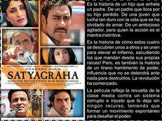 Cine Bollywood Colombia: SATYAGRAHA