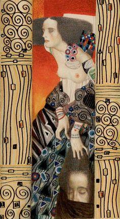 Golden Klimt - 11  - Die Stärke