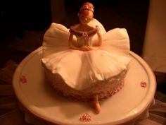 Ballerina Birthday Cake By hilde on CakeCentral.com