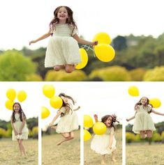 Jump, fun and balloons - Kids photography in Melbourne www.freshphotography.com.au
