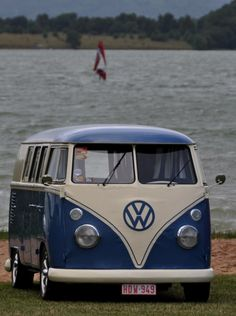 Busses and #Beaches, what more could you want? #Volkswagen #RoadTrip #Adventure #Explore #Travel #Wanderlust