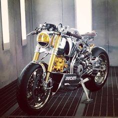 Ducati panigale 1199S @ortolanicustoms - RocketGarage - Cafe Racer Magazine