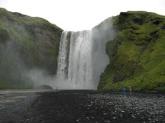 The Awesome Of Skogafoss Waterfall!