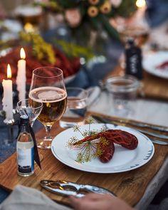 Praktiska fiskbestick ur Hardanger Bestikks Fjord-serie passar tillsammans med Sagaform skaldjursset passar perfekt till kräftor och skaldjur. Crawfish Party, My Best Recipe, Clams, Bon Appetit, Food Styling, I Am Awesome, Food Photography, Good Food, Brunch