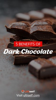 Eating on a regular basis can improve cardiovascular health and reduce stress. Check all benefits of dark chocolate in article. Healthy Eating Habits, Healthy Living, Dark Chocolate Benefits, Gut Health, Health Tips, Mental Health, Whole Food Recipes, Healthy Recipes, Lose 100 Pounds