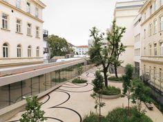 Institut de recherche pour l'industrie du textile et de l'informatique in Vienna. By Hahnenkamp & Frötscher.