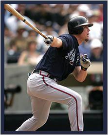 Chipper Jones- Atlanta Braves
