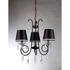 Warehouse of Tiffany Christian 3 Light Drum Chandelier