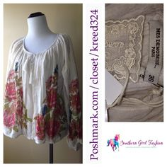 Mes Demoiselles...Paris : Blouse Magda Jacket | SS 2013.  Jacket Print Floral Tie Top -
