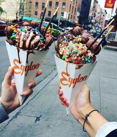 Baked Waffle Cone Tag your friends #goodfood #oreo #nutella #foodgasm #cream #foodporn #cookies #food #delicious #tasty #chocolate #icecream #foodstagram #sweet #sugar #yummy #brownie #cheatmeal #tastyfood #deliciousfood #waffle #donut #donuts #waffles #cake #baked #foodie #instafood Yummery - best recipes. Follow Us! #tastyfood