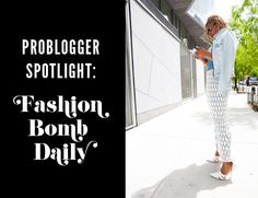 Exclusive interview with  urban fashion blogger, Claire from FashionBomb!