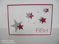 Weihnachtskarte Christmas Card Stampin Up