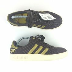 new photos 4bc66 b4817 NEW Ray Fong Adidas Adicolor Low Y1 Huf Barry McGee Size 9.5 Book, 5 Laces