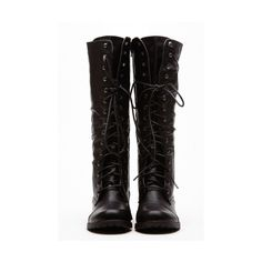 CiCiHot Black Faux Leather Quinn Calf Length Boots (795 MXN) ❤ liked on Polyvore featuring shoes, boots, mid-calf boots, black zipper boots, black mid calf boots, synthetic leather boots and faux-leather boots