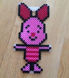 Piglet  perler beads by  mathildas_perler_beads
