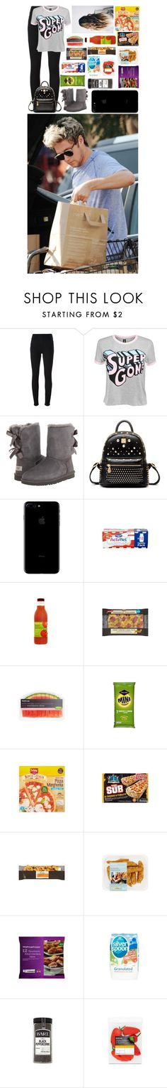 """Food Shopping With Boyfriend Niall"" by glitterbelle11 ❤ liked on Polyvore featuring dVb Victoria Beckham, Disturbia, UGG Australia and Disney"