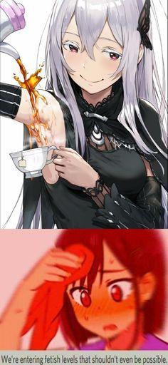 Society Problems, Naruto Sasuke Sakura, Echidna, Pretty Anime Girl, Re Zero, Gaming Memes, Manga Games, Stupid Funny Memes, Kawaii Anime