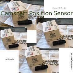 Nissan/ Infiniti Camshaft Sensor by Hitachi  #hitachi #camshaftsensor   #infiniti #nissan #fx35 #g35 #i35 #m35 #350z #maxima #altima #nv1500 #nv2500 #nv3500 #pathfinder #quest #sentra #xterra
