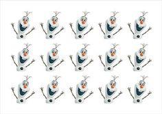 Resultado de imagem para personagem olaf para imprimir Frozen Birthday Party, Elsa Birthday, Olaf Frozen, Princess Cake Pops, Frozen Princess, Frozen Cupcake Toppers, Festa Frozen Fever, Disney Paper Dolls, Frozen Party Decorations