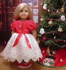Roten samt und Spitze besonderen Anlass Kleid von MyGirlClothingCo