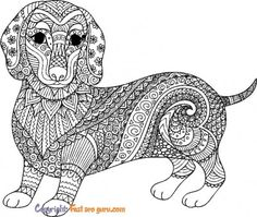Free Kids Coloring Pages, Puppy Coloring Pages, Cute Dog Pictures, Colorful Pictures, Cute Dogs, Mandala, Printable, Puppies, Wallpaper