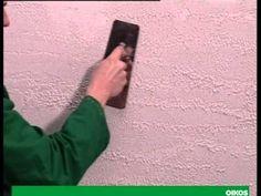 ▶ Travertino Romano - come applicare il rivestimento decorativo OIKOS - YouTube